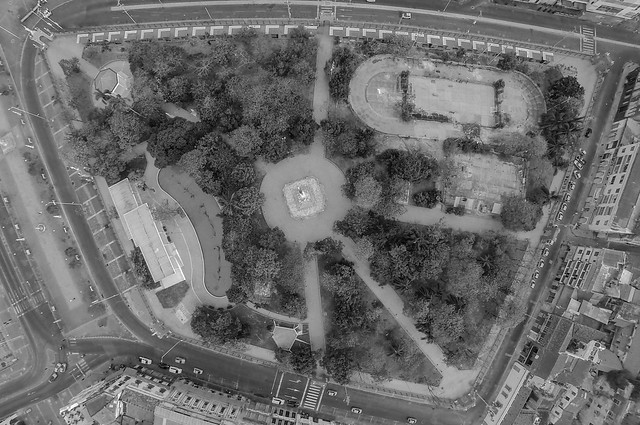 Parque Centenario, vista cenital