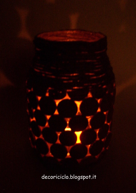 barattolo doppio uso vaso o portacandela 5