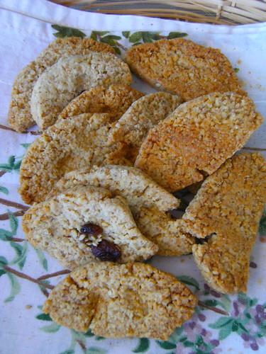 Oat & Coconut cookies - Biscotti di avena e cocco