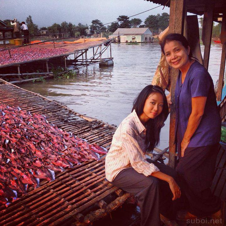 con của nữ diễn viên Minh Trang