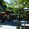 櫛田神社でお参り。御朱印帳忘れた。 ひ天気もよくて結婚式を挙げてるご家族多し。おめでとう。 のサムネイル