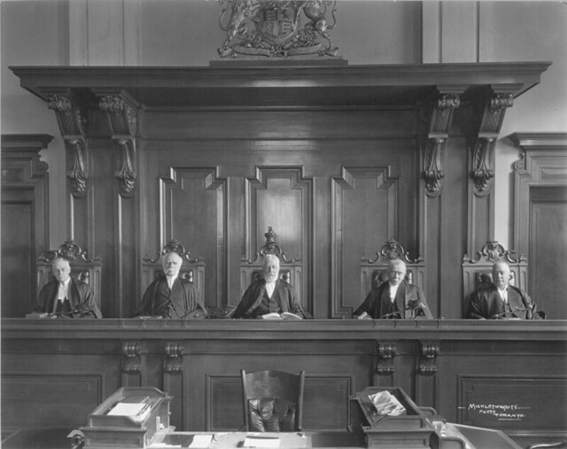 Judges - First Appellate Division - May 1923 from Flickr via Wylio