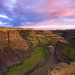 Palouse's Backside by Blue Hour