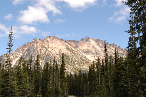 On the way to Winthrop,Wa.,North Cascades Hiway
