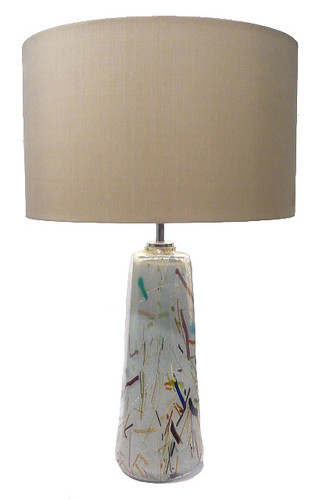 'Miro - Grey-Blue' Table Lamp
