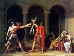 Jacques David, Oath of Horatii, 1784