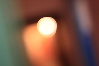 Hall light.