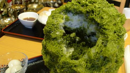 しもきた茶苑 2012ホワイトデーかき氷
