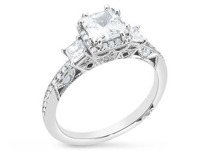Tacori 2622PRSMPW Diamond Engagement Ring