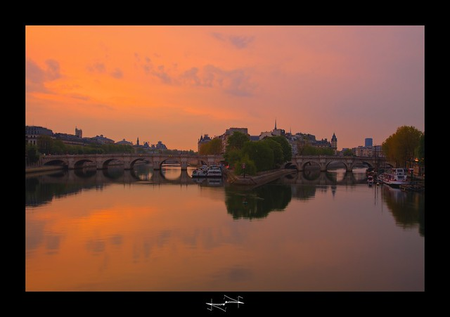 Le Pont Neuf HDR ~ Paris ~ France ~ Louvre ~by D.F.N.