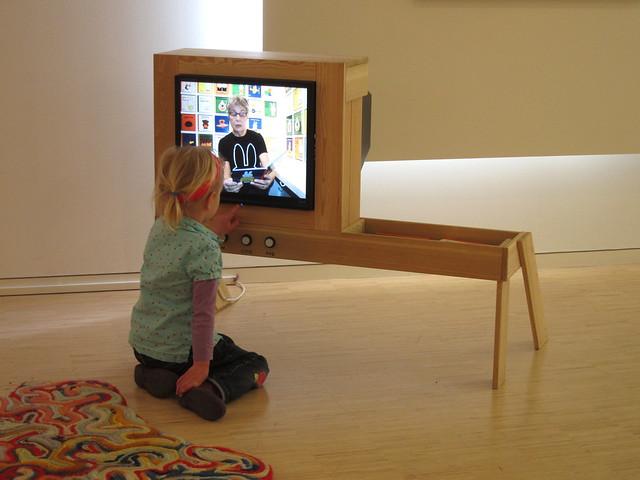 Cute TV stand