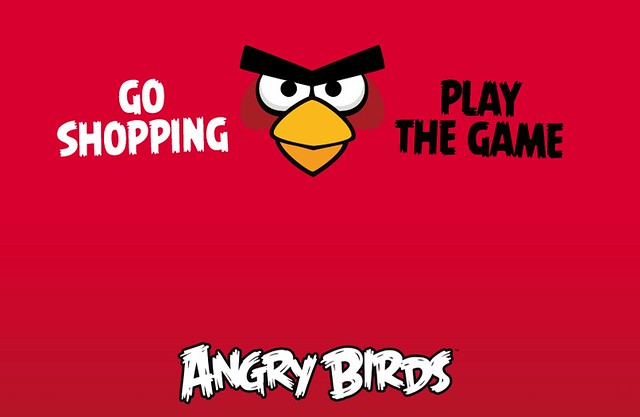 Angry Birds, go shopping