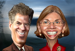 Scott Brown vs. Elizabeth Warren - MA Senate 2012