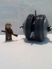 The Tumbleweed Tank by World War 1 tanker