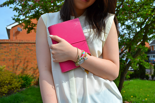 daisybutter - UK Fashion and Style Blog: what i wore, ootd, outfit, uk fashion blogger, filofax, filofax style-off, sacoor brothers, river island, mulberry alexa