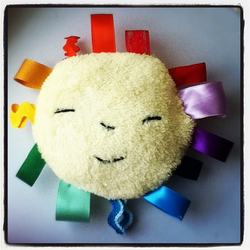 Sunshine Taggie Plush made by me!