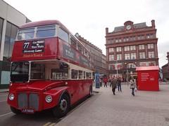 Autocarro em Belfast na Irlanda do Norte
