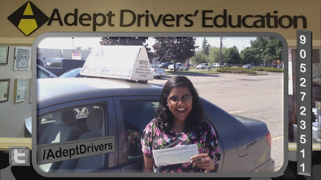 ADEPT Driver Road Test G Licence Success Story