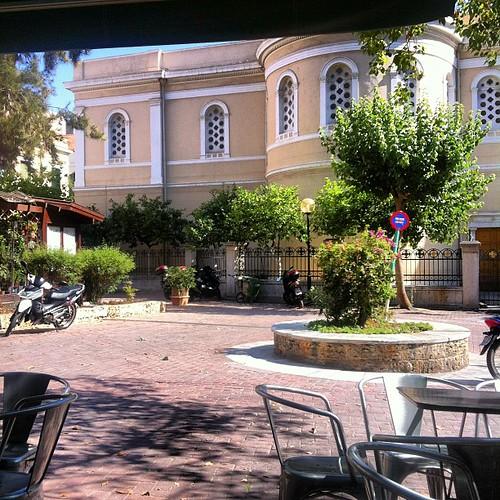 Athens square life