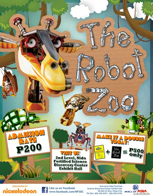 robot zoo in mall of asia