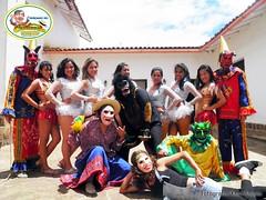 Delegación de Riojanos en Chachapoyas - Carnaval Riojano 2013