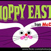 McDonald's - cash register topper sign - Hoppy Easter from McDonald's - 1960's by JasonLiebig