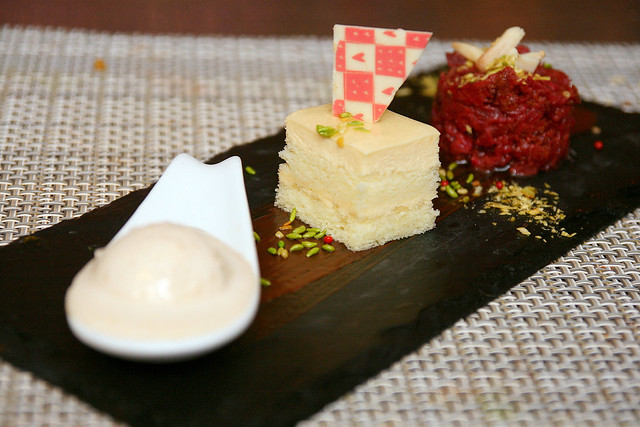 Desserts - kulfi, Shufta and beetroot halwa