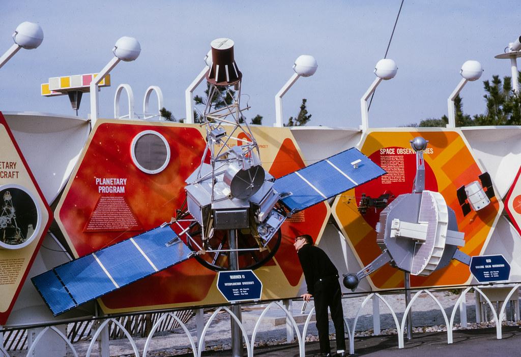 World's Fair satellite