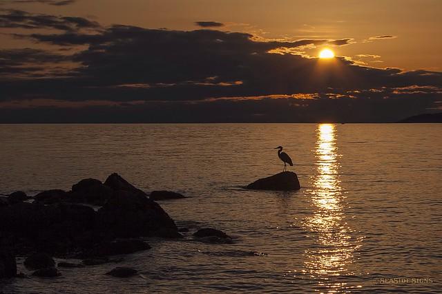 A Strait Sunset  ~ Vancouver, BC