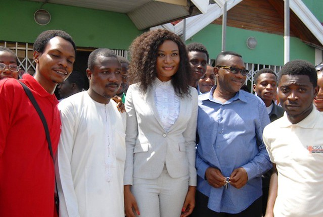 Sandra Ankobiah holds free legal aid clinic at Trans Africa University College