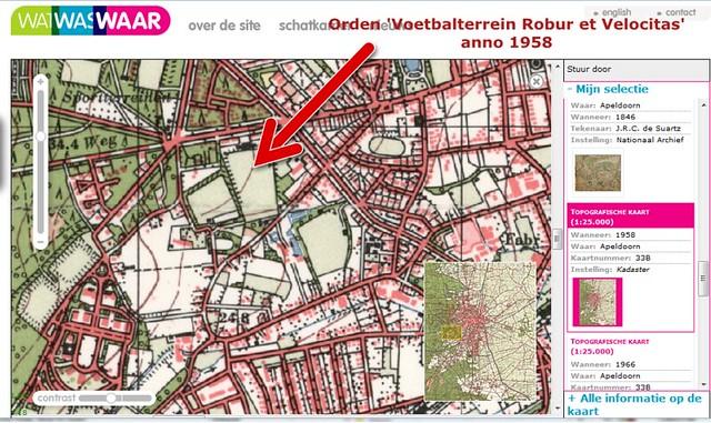 Robur et Velocitas, Orden Apeldoorn anno 1958