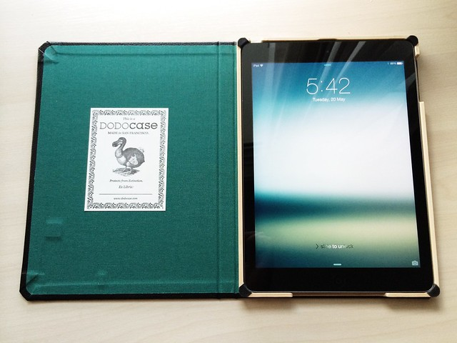 Custom Dodocase for iPad Air