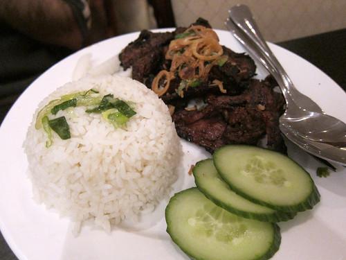 Bún Thịt Heo Nướng (but with rice)