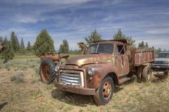 1951 Advance Design GMC dump truck