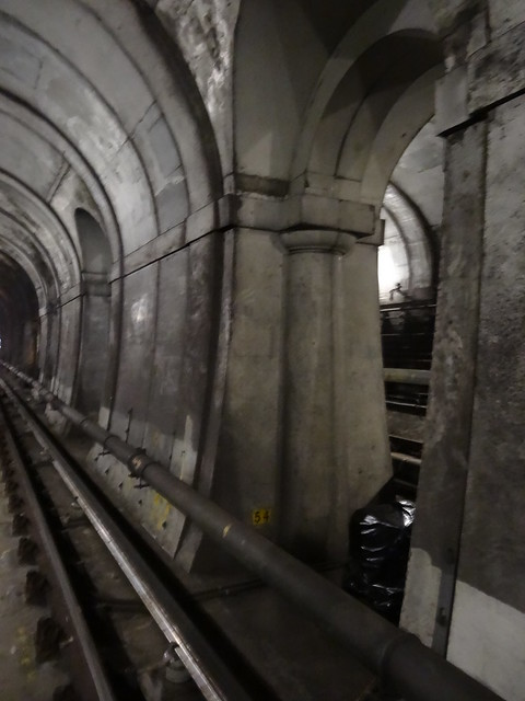 36 - Preserved arches in Thames Tunnel