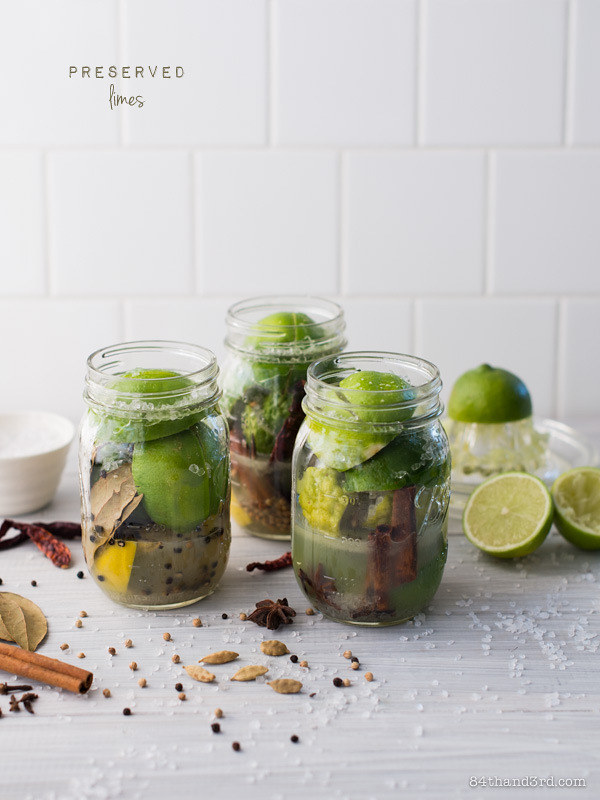 Preserved Limes & Kaffir Limes