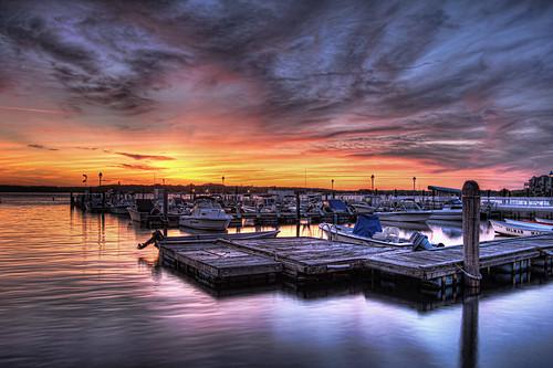 sunset beach photography high dynamic nj shore jersey range hrphoto chaseschieferphotography therealjerseyshore sharkrivermarinabelmarnewjersey