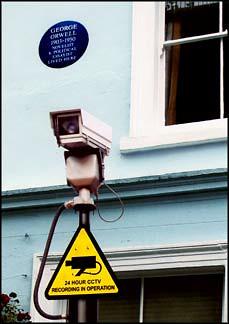 george orwell and cctv camera