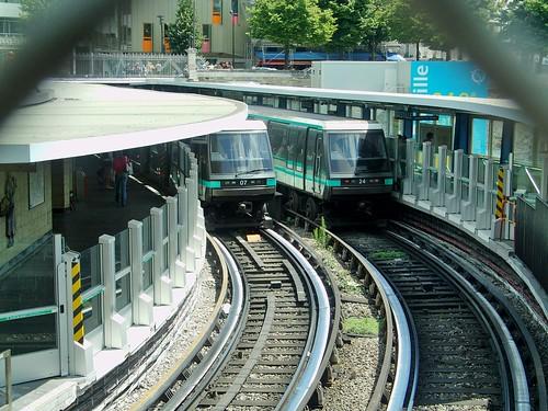 2011-07-02. Station Bastille - Automatisation de la ligne 1 du métro de Paris