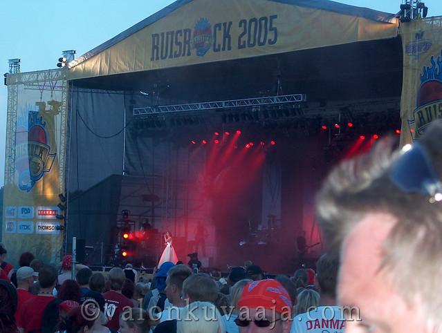 Ruisrock 2005 sunnuntai - Within Temptation