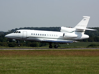 VP-BMS Falcon 900EX Flying Lion Ltd