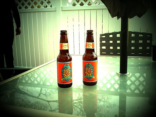 Beers on the patio!