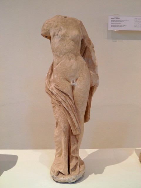 Statue of Hermaphrodite, Archaeological Museum, Dion