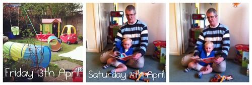 Friday 13th & Saturday 14th April