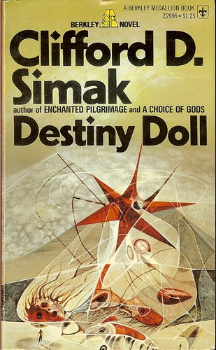Destiny Doll - Clifford D. Simak - cover artist Richard Powers