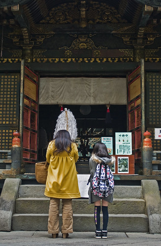 Tokugawa prays