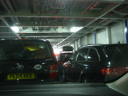 Waiting to disembark at Dover