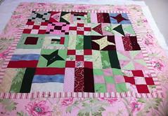 Pink Sampler Quilt