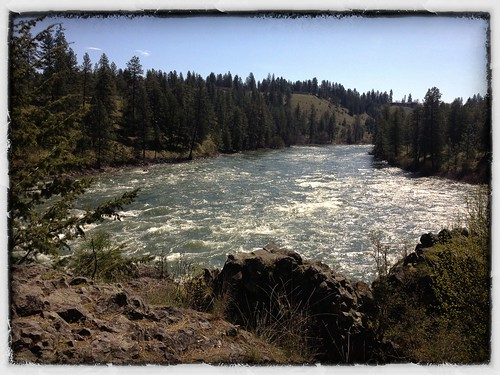 Spokane river run earth day April 22 2012