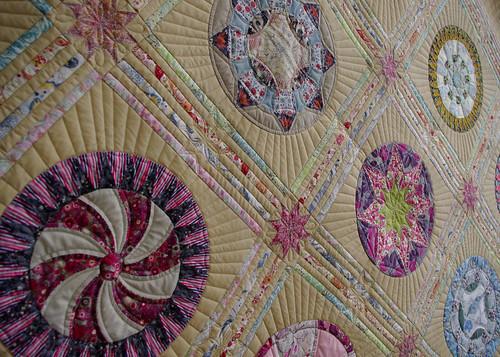 Quilts on Bastings: Liberty Circles Quilt : furball farm quilting - Adamdwight.com